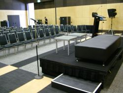 Classroom Style view from stage