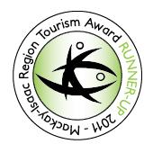 Mackay-Isaac Region Tourism Award Runner Up 2011