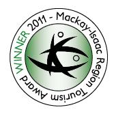 Mackay-Isaac Region Tourism Award Winner 2011
