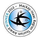 Mackay-Isaac Region Tourism Award Winner