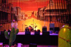Hall A & Hall B | Stage & Backdrop