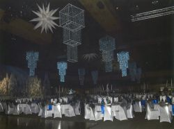 Thiess Winter Wonderland Christmas Function Hall A & Hall B